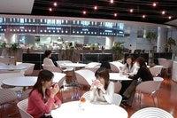 お洒落なカフェ風食堂はメニューも豊富です♪